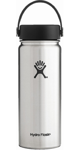Hydro Flask Wide Mouth Flex Bottle 18oz (532ml) Stainless